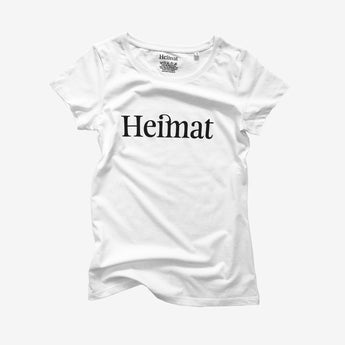 Heimat T-Shirt, weiss (Damen-Kollektion)