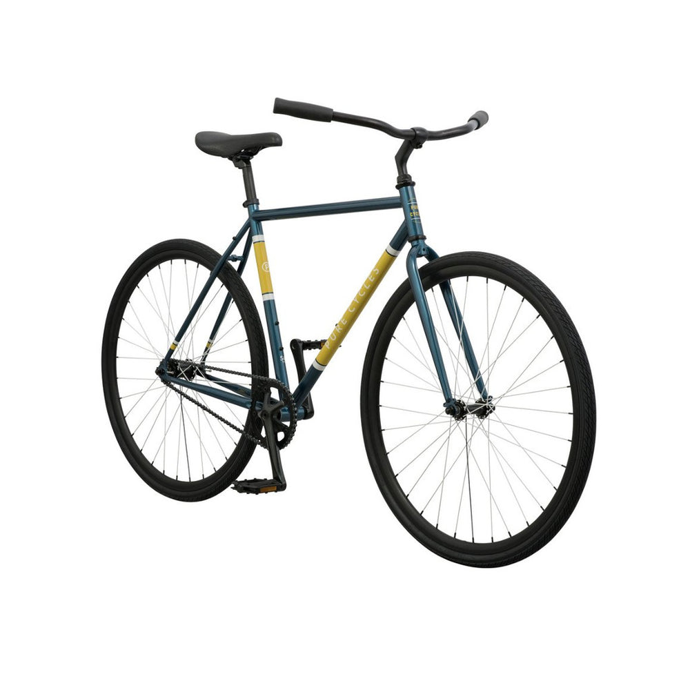 Reiðhjól - Hjól - Single speed - Fótbremsa - Pure Cycles - Turcana