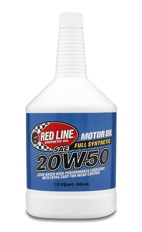 Red Line 20W50 Synthetic Motor Oil