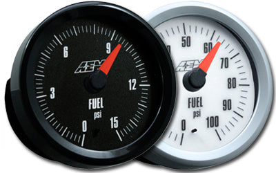 AEM Analog Fuel Pressure Gauge