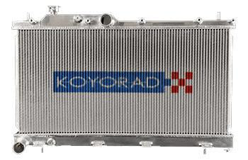 Koyo Aluminum Radiator for 04-07 Subaru STI