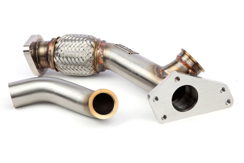 Grimmspeed External Wastegate Up-Pipe with Dump Tube for 08-14 Subaru WRX