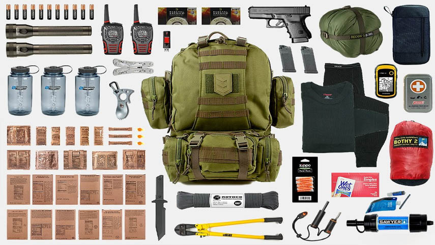 Bug Out Bag at NRO