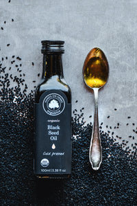 Black seed oil face mask