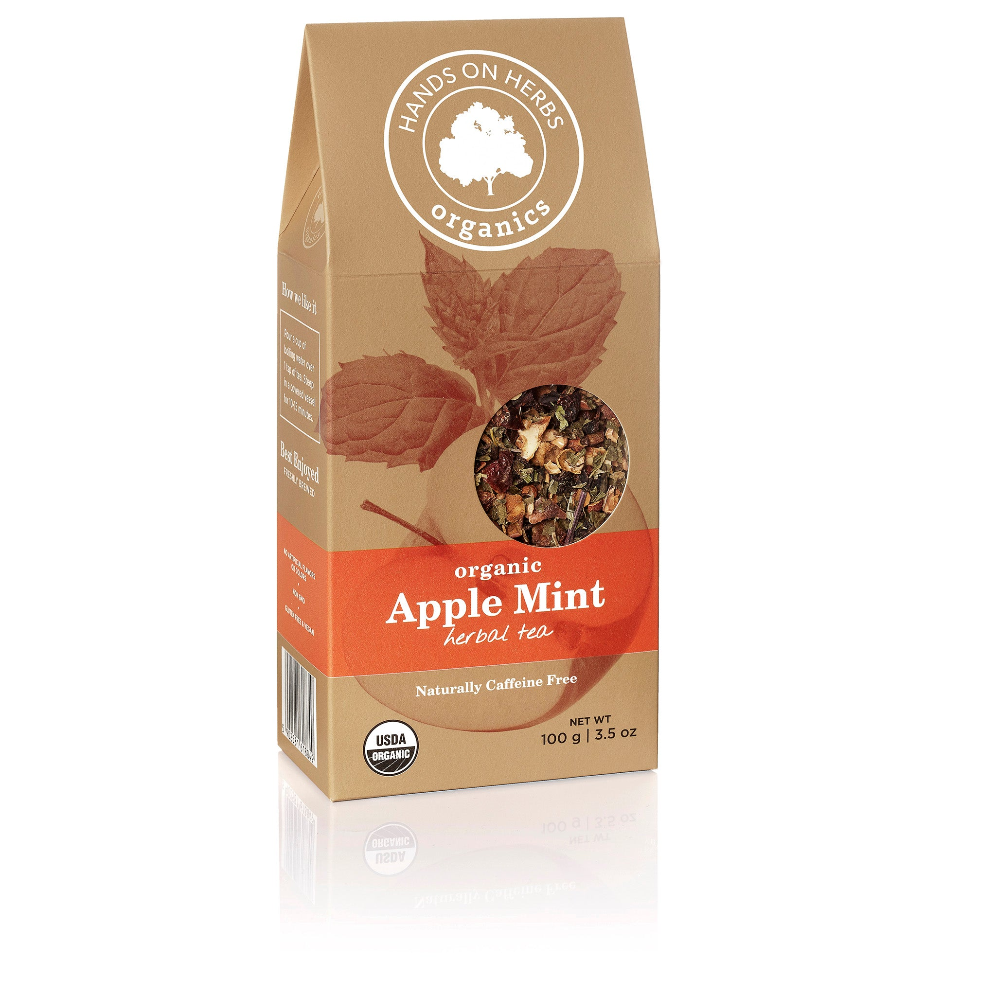 Apple Mint Tea