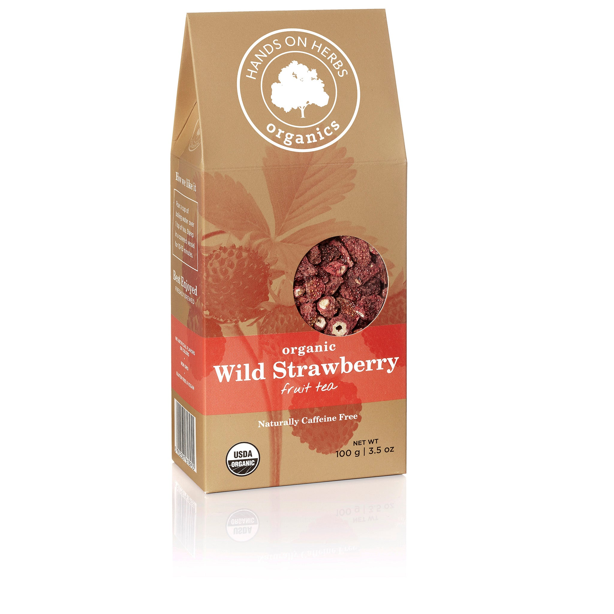 Wild Strawberry Tea