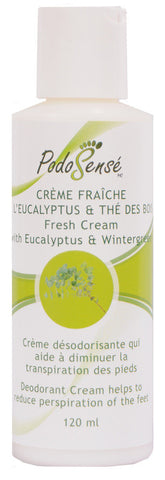 PODOSENSE FRESH CREAM W' EUCALYPTUS & W.G. - RETAIL (120ML)