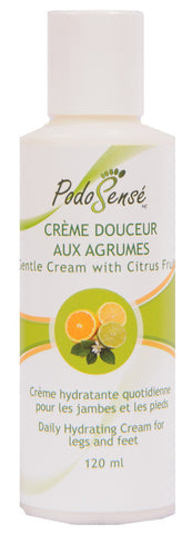 PODOSENSE GENTLE CREAM W' CITRUS FRUITS - RETAIL (120 ML)