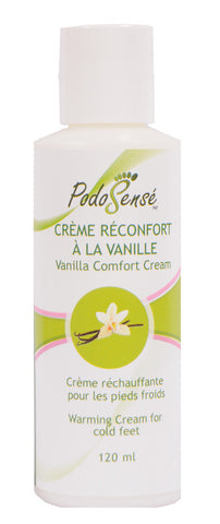 PODOSENSE COMFORT CREAM W' VANILLA & GRAPEFRUIT - RETAIL (120ML)