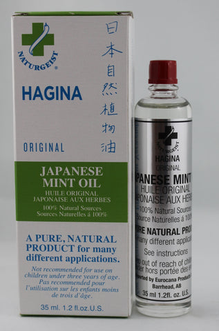 HAGINA JAPANESE MINT OIL - 35ML