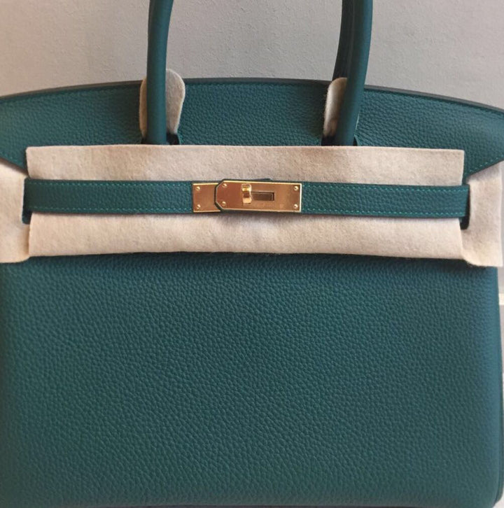 Hermès Birkin 30 Malachite Togo Gold Hardware GHW A Stamp 2017 <!18926835> - The French Hunter
