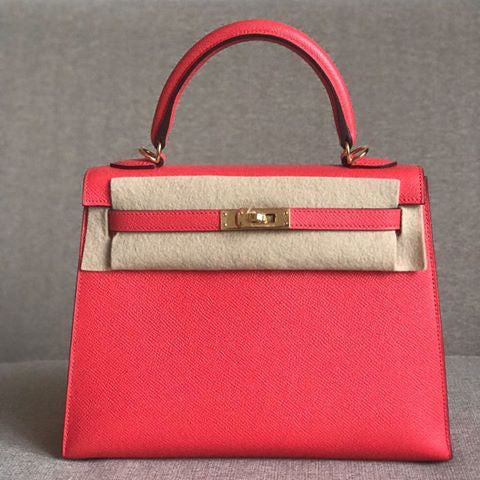 Hermès Kelly 25 Rose Jaipur Sellier Epsom Gold Hardware GHW A Stamp 2017 <!18971399> - The French Hunter