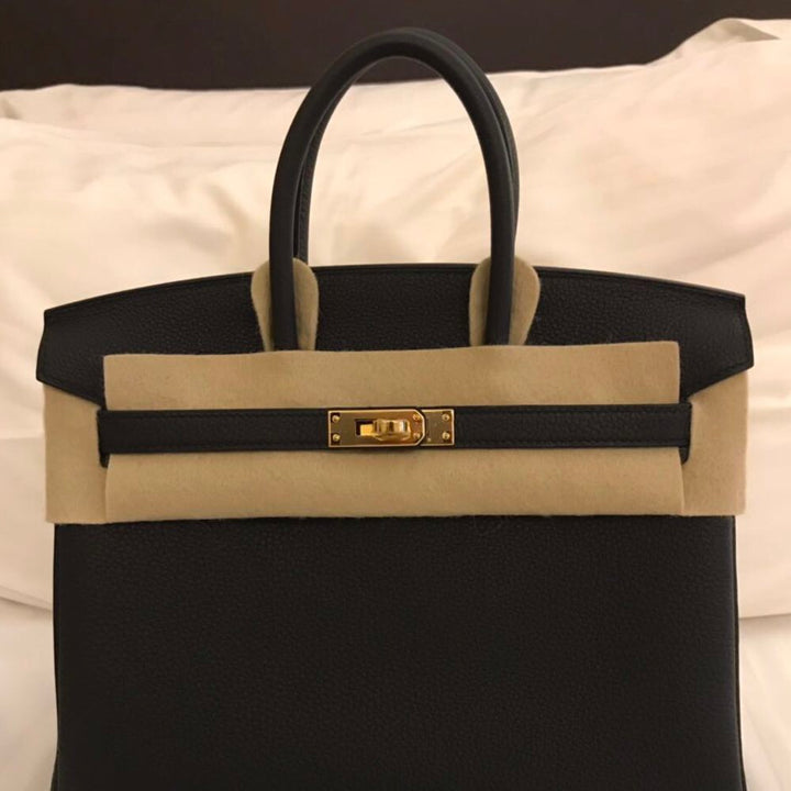 Hermès Birkin 25 Noir (Black) Togo Gold Hardware GHW C Stamp 2018 <!28485680> - The French Hunter