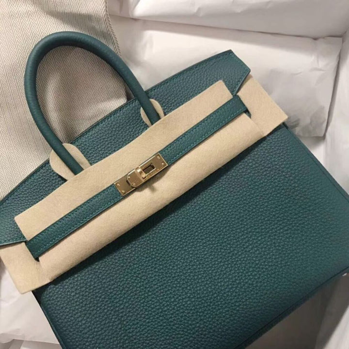 Hermès Birkin 25 Malachite Togo Gold Hardware GHW C Stamp 2018 <!28530295> <!SOLD> <!SOLD> - The French Hunter