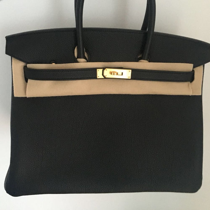 Hermès Birkin 35 Noir (Black) Togo Gold Hardware GHW C Stamp 2018 <!29199824> - The French Hunter