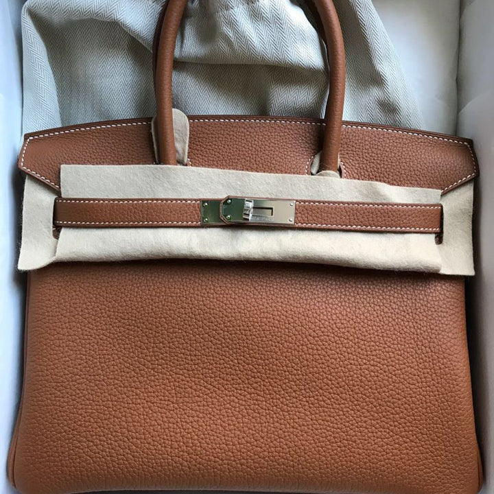 Hermès Birkin 30 Gold Togo Palladium Hardware PHW C Stamp 2018 <!30446041> - The French Hunter