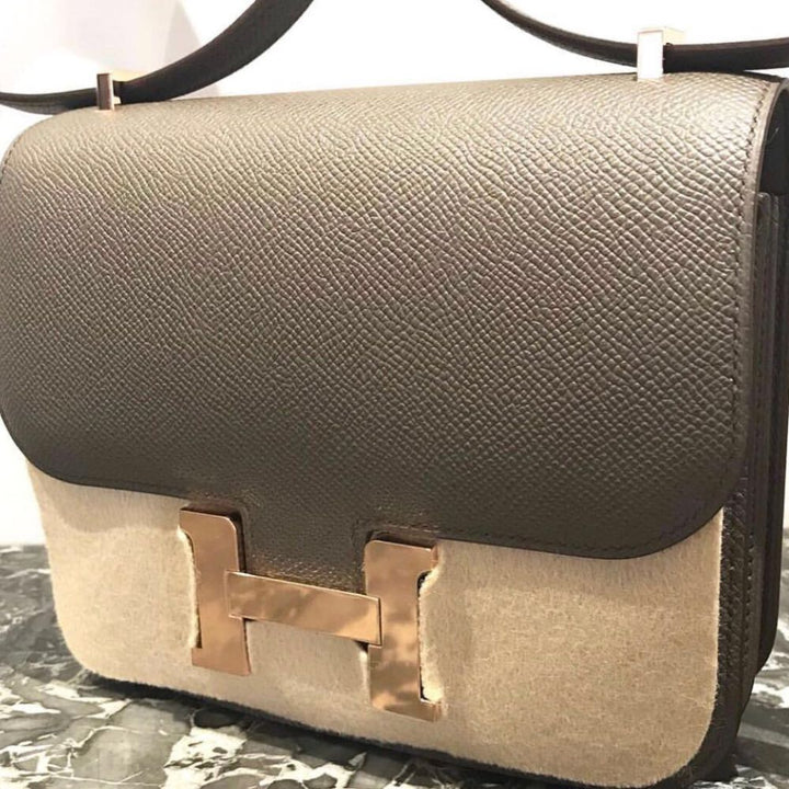 8bd6c6301648 ... store hermes constance 18 gris etain epsom rose gold hardware rghw c  stamp 2018 the french ...