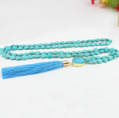 All My Hearts Turquoise Mala