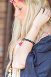 Black is the New Pink Bracelet