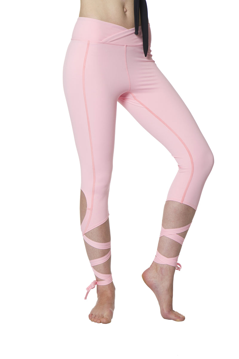 Coral Pink Flexi Dancer Leggings