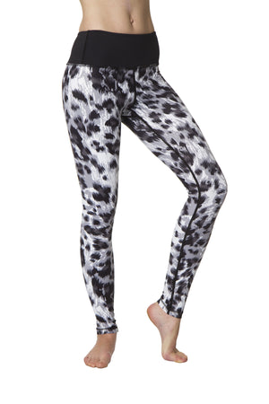 Black Leopard Flexi Yoga Leggings