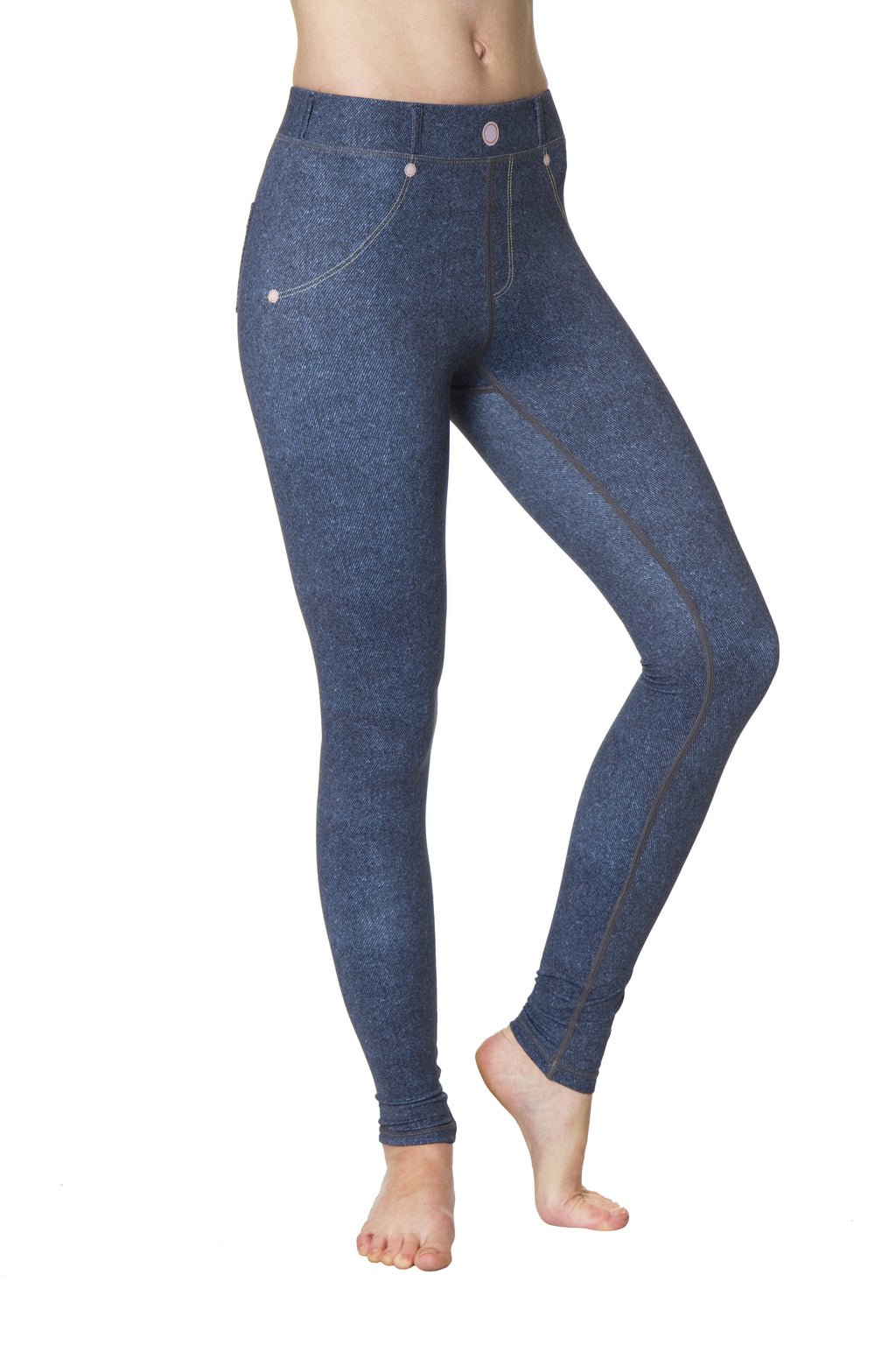 Denim Flexi Yoga Leggings