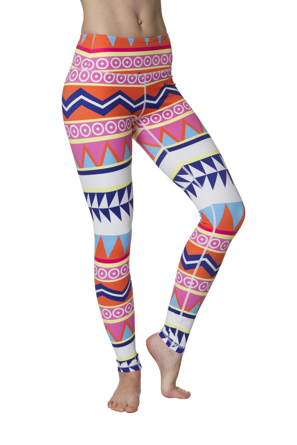 Fun Aztec Flexi Yoga Leggings