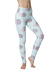 Happy Hedgehog Flexi Yoga Leggings