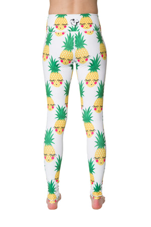 Pineapple Flexi Yoga Leggings