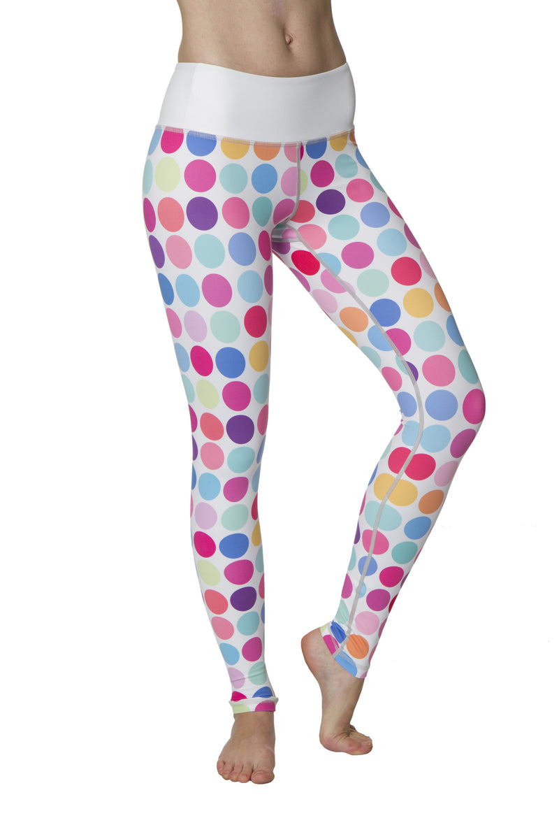 Polka Dots Flexi Yoga Leggings