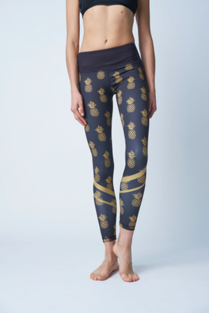 But First Pineapple Fash Leggings