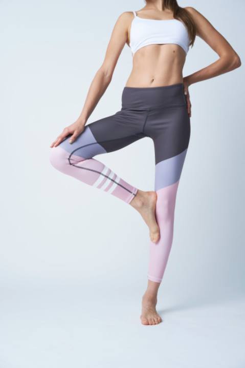 Pink Blush Fash Leggings