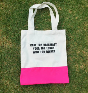 Flexi Lexi Shopping Bag - Hot Pink
