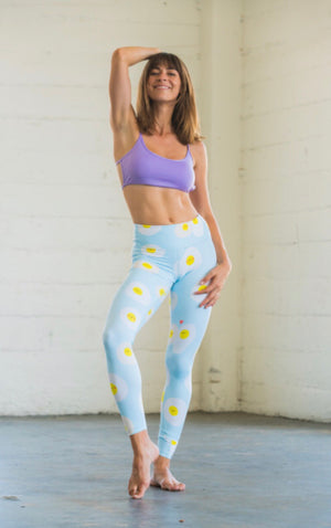 Sunny Side Up Flexi Yoga Leggings