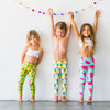 Watermelon Flexi Yoga Leggings - Kids