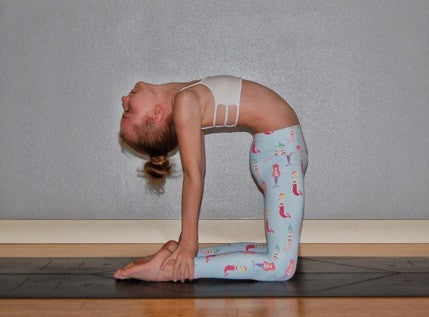 Mermaid Flexi Yoga Leggings - Kids