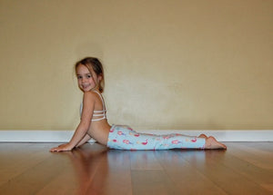 Mermaid Flexi Yoga Leggings - Minis (3-5 years)
