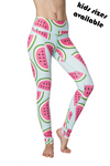 Watermelon Flexi Yoga Leggings