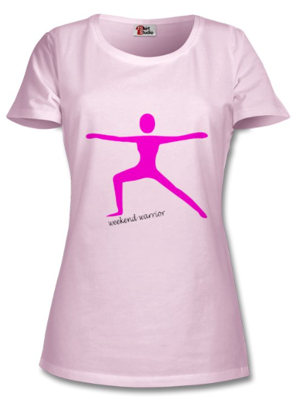 Mimi Fitwear Women's 'Weekend Warrior' T-Shirt
