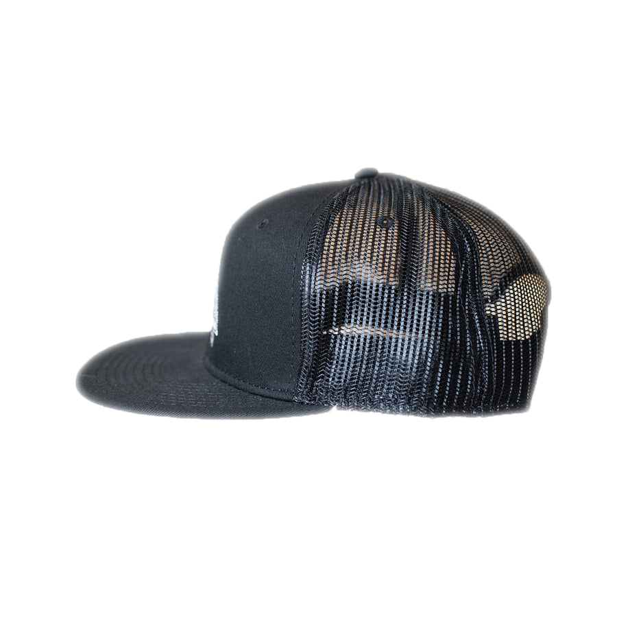 HOA KAI Tribal Hat: BLACK