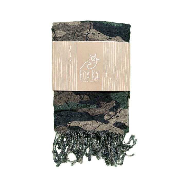 Distressed Camo Towel