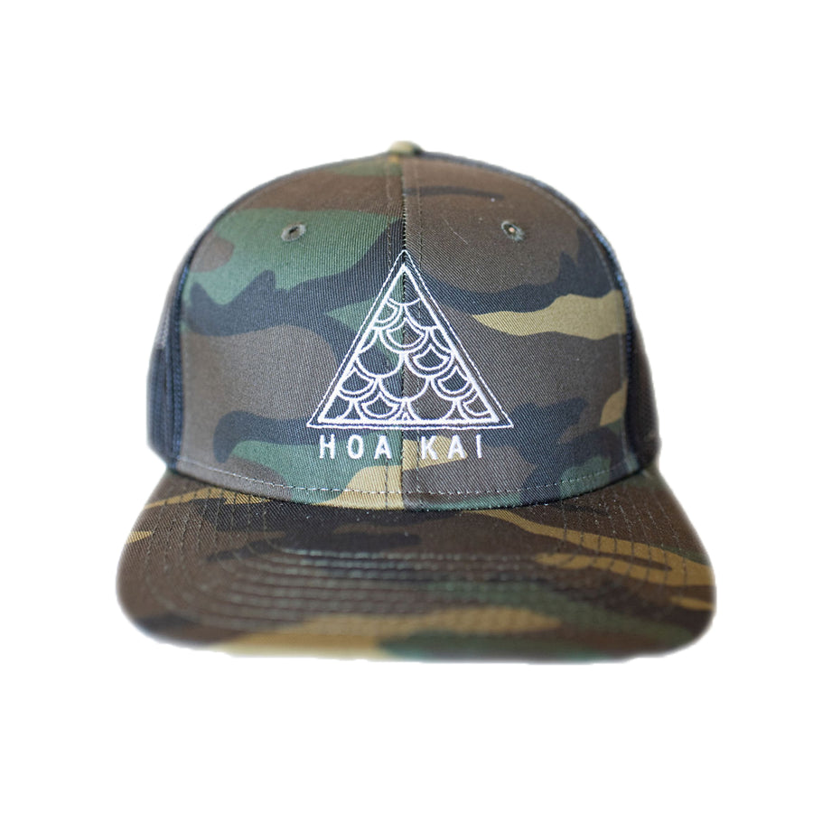 HOA KAI Tribal Hat: CAMO