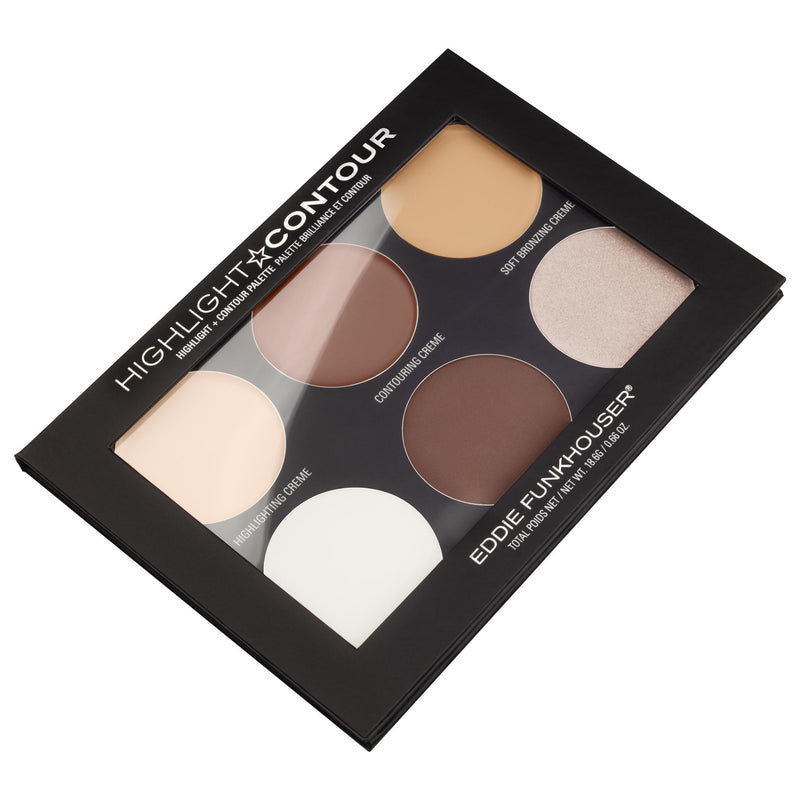 HIGHLIGHT & CONTOUR PALETTE,  - EDDIE FUNKHOUSER® Cosmetics