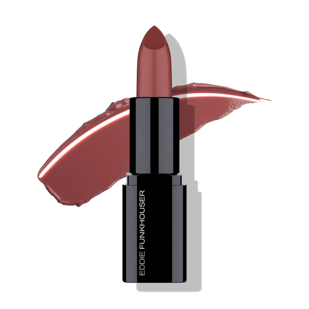 HYPERREAL® NOURISHING LIP COLOR - FOXY BROWN, Lip - EDDIE FUNKHOUSER® Cosmetics