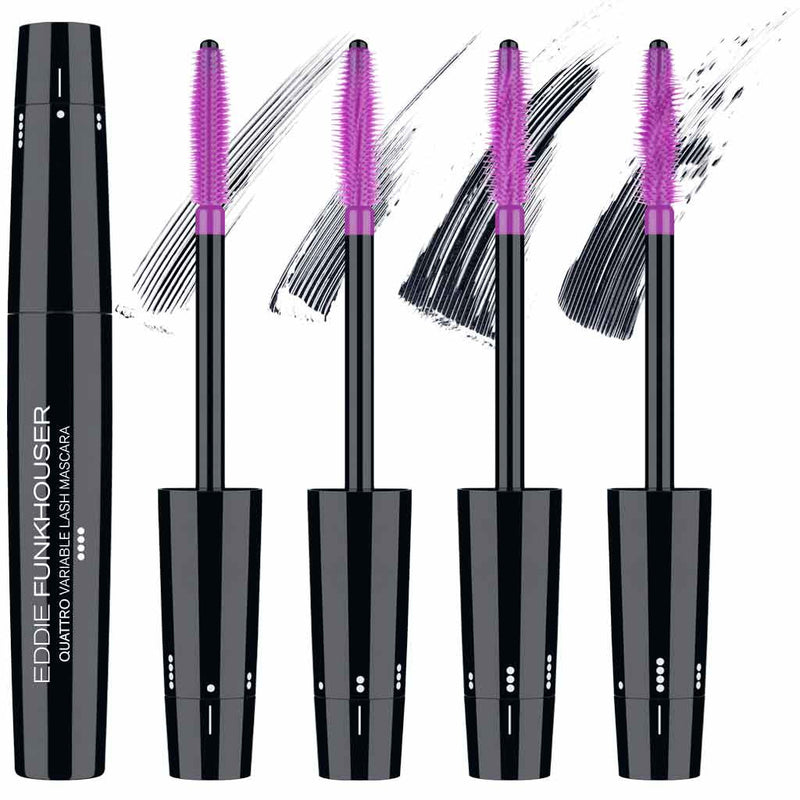 QUATTRO® VARIABLE LASH MASCARA | Mascara | Eddie Funkhouser® Cosmetics