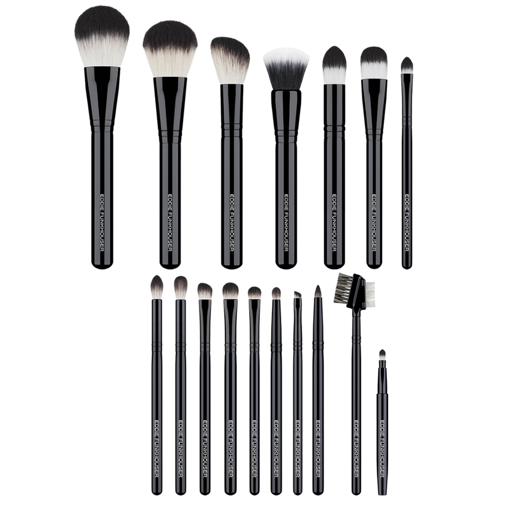 PRO BRUSH COLLECTION,  - EDDIE FUNKHOUSER® Cosmetics