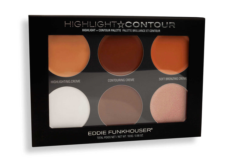 HIGHLIGHT & CONTOUR PALETTE |  | Eddie Funkhouser® Cosmetics