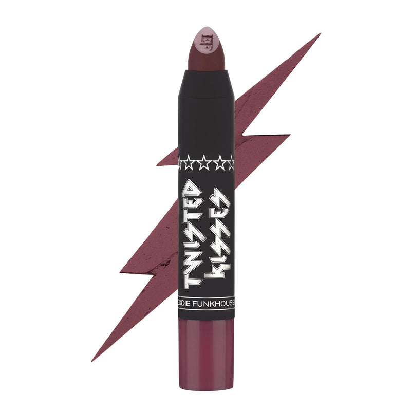 TWISTED KISSES MATTE LIP PENCIL,  - EDDIE FUNKHOUSER® Cosmetics