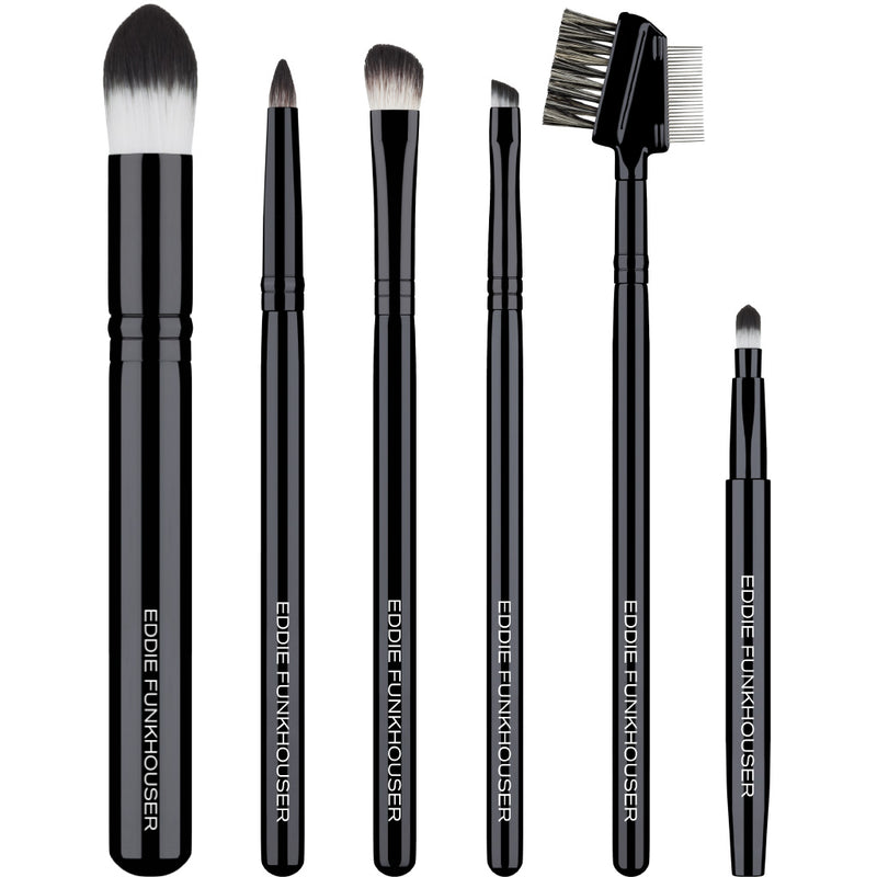 DETAIL BRUSH ESSENTIALS,  - EDDIE FUNKHOUSER® Cosmetics