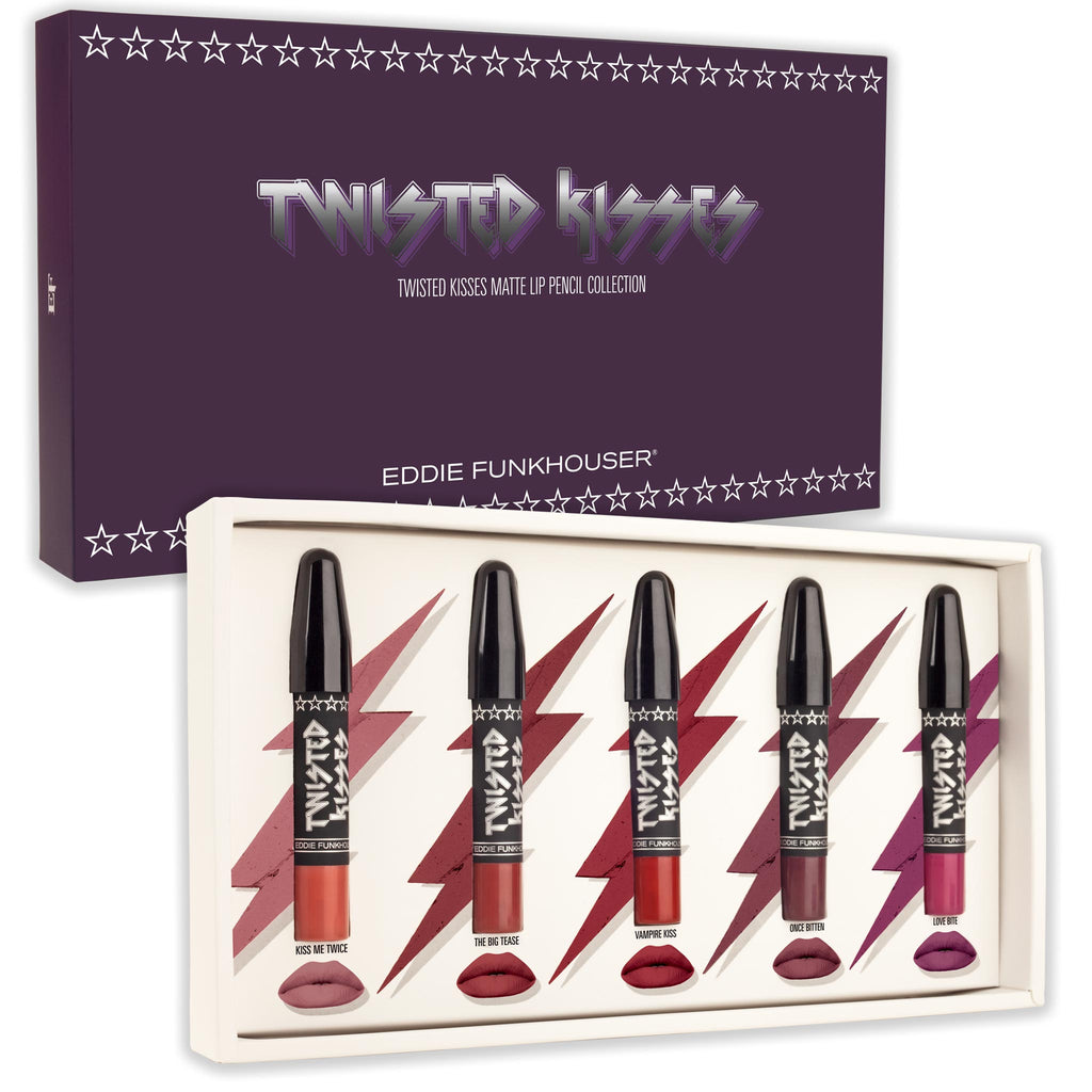TWISTED KISSES | COLLECTION |  | Eddie Funkhouser® Cosmetics